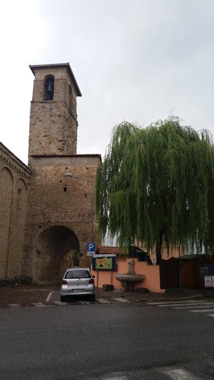 Torre campanile Chiesa di Sant'Agostino- Amatrice