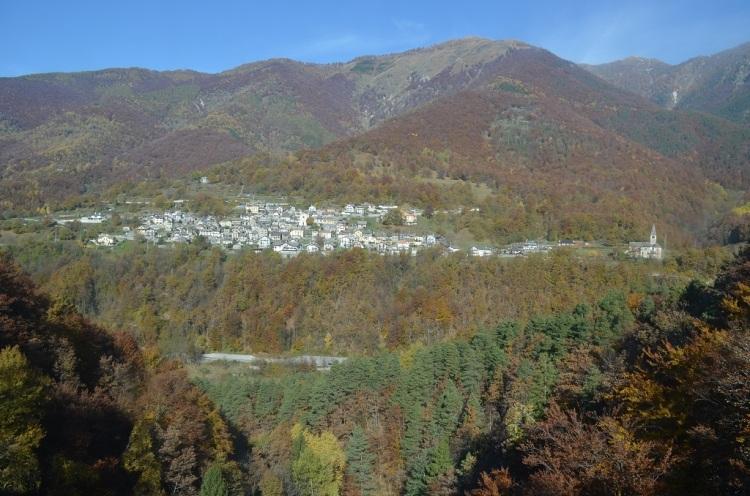 Val Vigezzo panorama dal treno