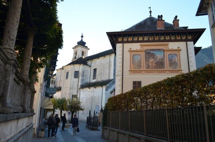 Santa Maria Maggiore - muri dipinti