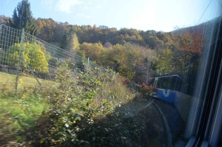 Sul treno della Vigezzina