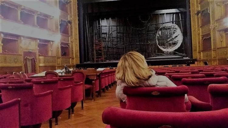 Interno del teatro Massimo - Palermo