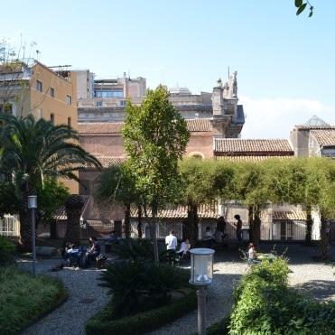 I giardini della facoltà di Giurisprudenza - Catania
