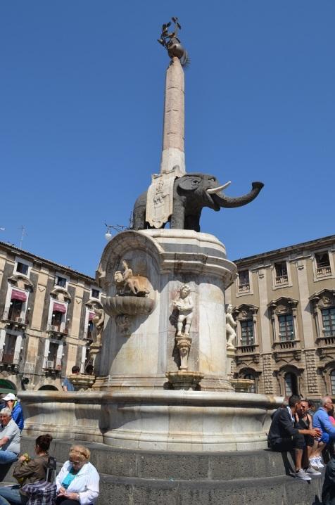 Fontana dell'Elefante - Catania