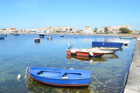 Il porto di Marzameni Sicilia