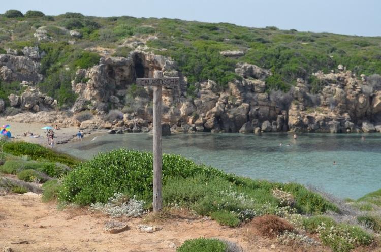 Spiaggia di Calamosche- Sicilia