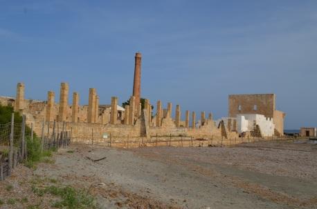 La tonnara Vendicari Sicilia