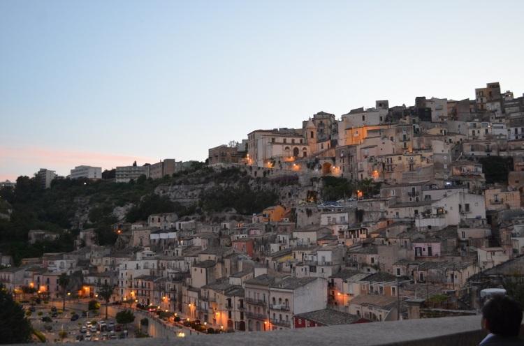 tramonto Ragusa Ibla