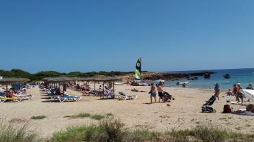 Plaja de Son Xoriguer Minorca