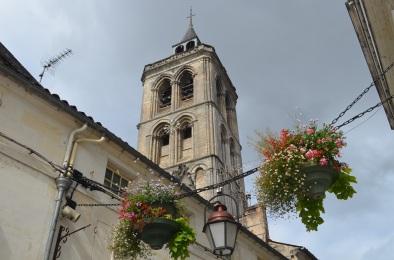 Cognac - il campanile della cattedrale