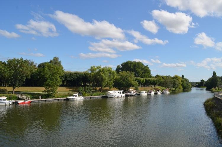 Saintes - il fiume Charente