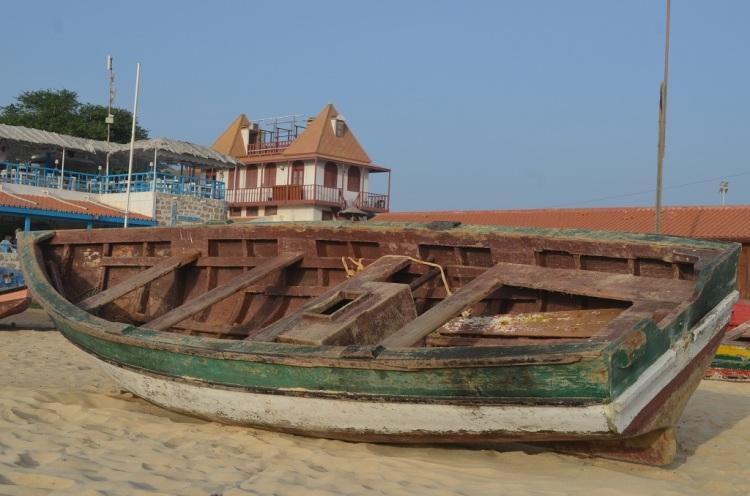 sul pontile a Santa Maria - Capo Verde