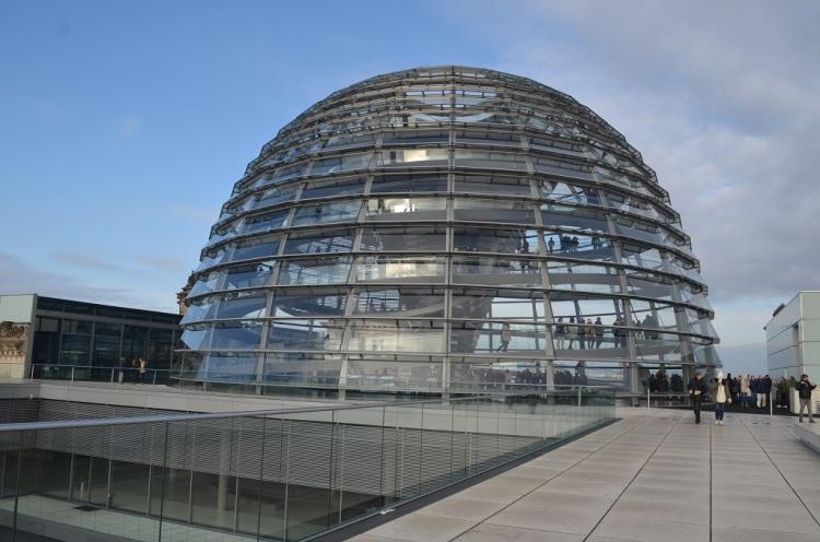 la Cupola Reichstag Berlino