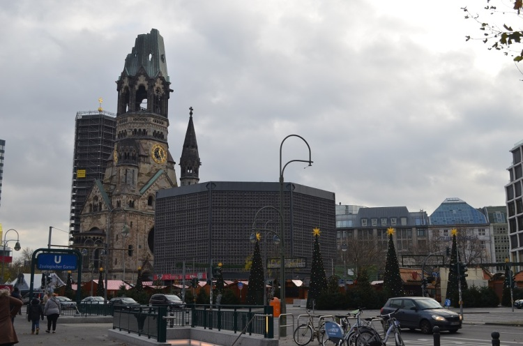 Keiser Wilhem Gedachtnicskirche - Berlino
