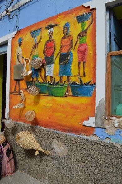 Murales Espargos Isola di Sal Capo Verde