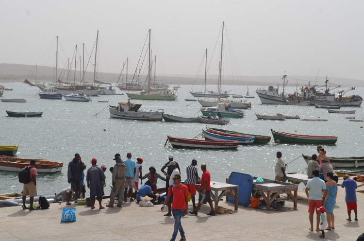 Porto di Palmeira  Isola di Sal Capo Verde