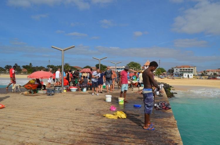 Il pontile - Santa Maria -Capo Verde