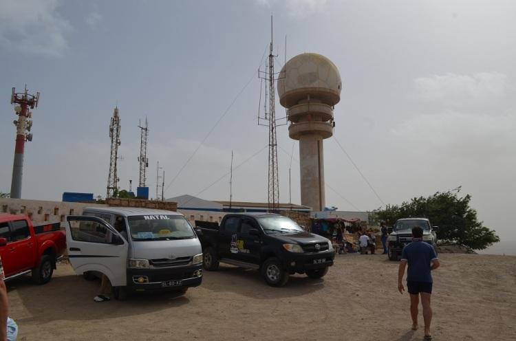 La collina dei Radar - Espargos Isola di Sal Capo Verde