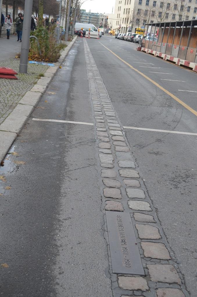 Ricordi del muro Berlino