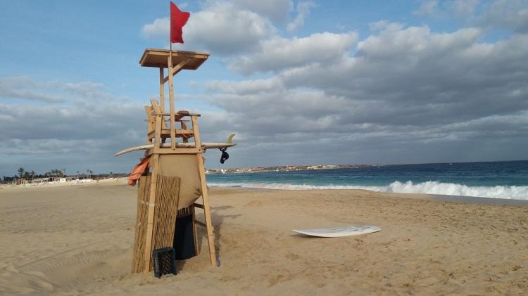 la spiaggia di Santa Maria - Capo Verde