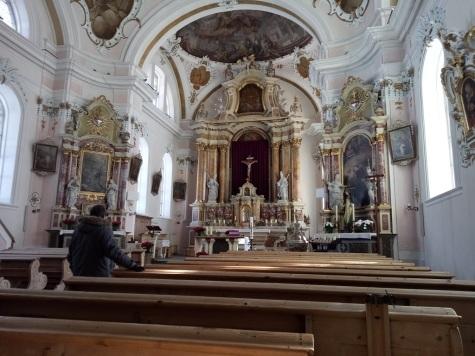 Interno Chiesa di San Vigilio
