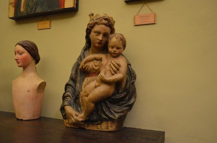 Madonna con bambino di Michele da Firenze Museo Bargellini Bologna