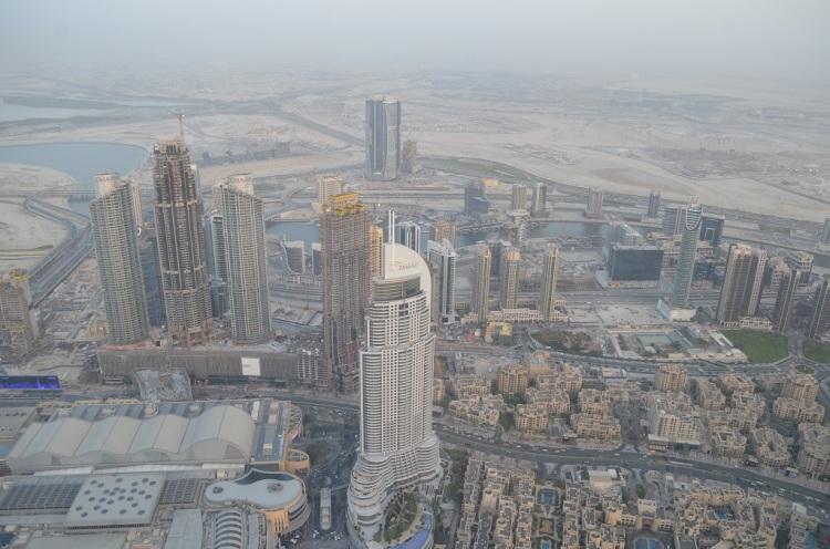 Dubai dal Burj Khalifha