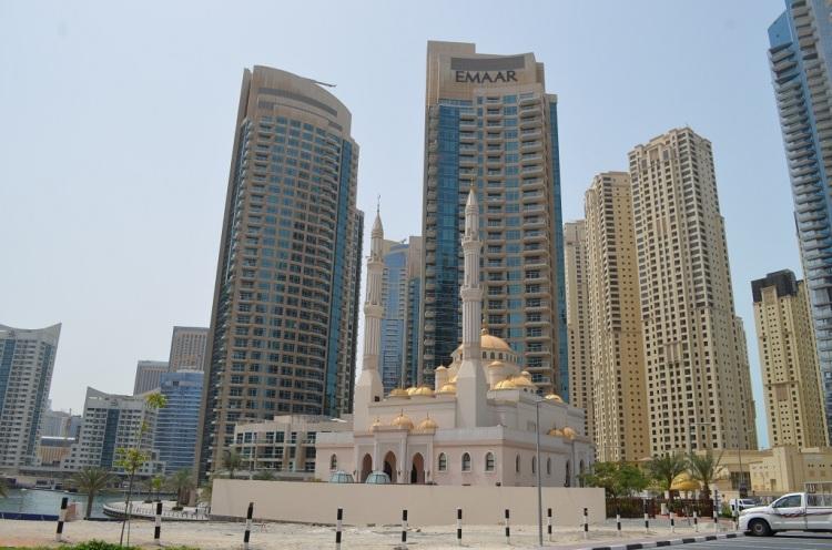 Dubai Marina e Moschea