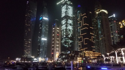 La Marina by night - Dubai
