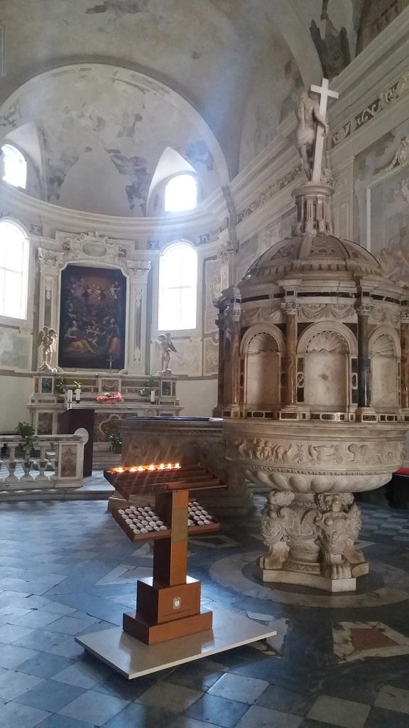 Battistero Oratorio san Giacinto Pietrasanta