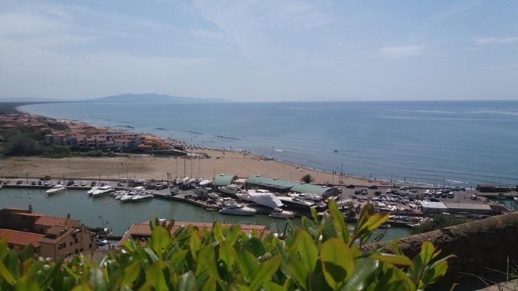 Panorama Castiglione della Pescaia Toscana