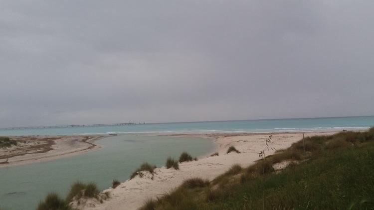 Spiaggia bianca Rosignano Solvay