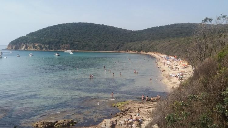 Spiaggia di Cala Violina Toscana