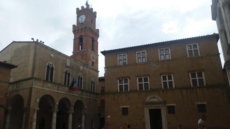 Piazza Pio II - Pienza