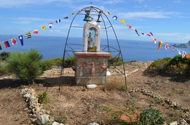 Punta Incenso statua di San Silverio