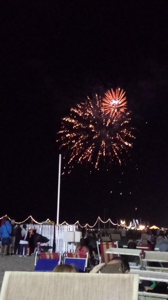 Fuochi d'artificio Rimini