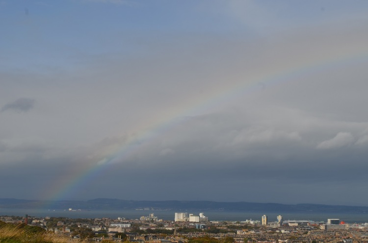 Arcobaleno su Edimburgo