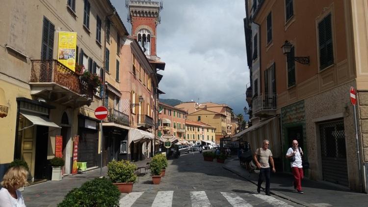 Corso Colombo Sestri Levante Italy