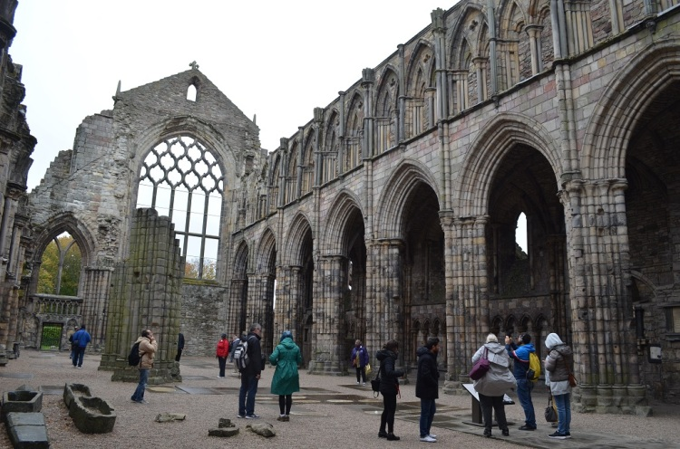 Holyrood Abbey Edimburgo