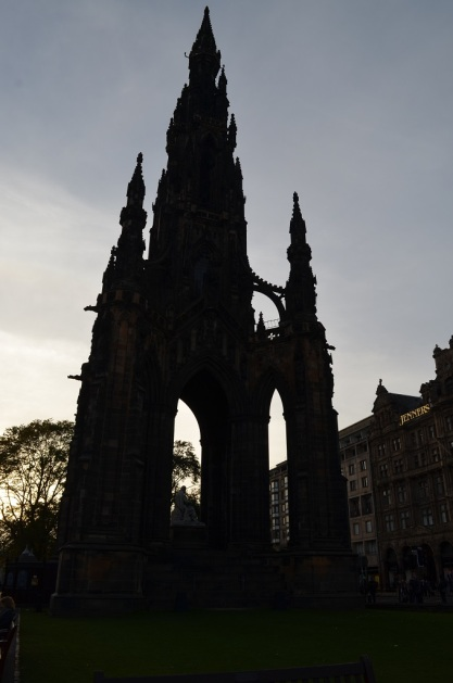 Monument Scott - Edimburgo