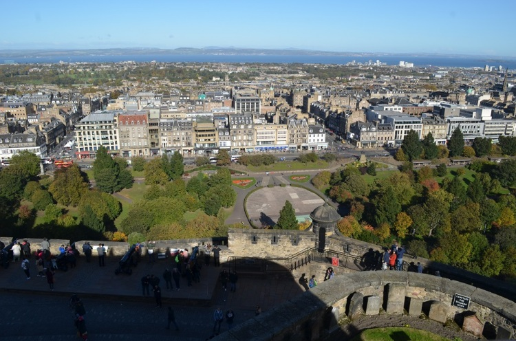 Panorama dal Castello di Edimburgo