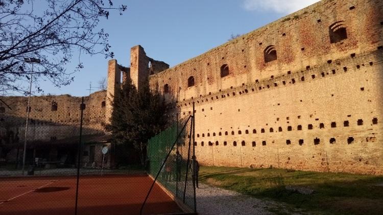 Corte del Castello di Castel d'Ario