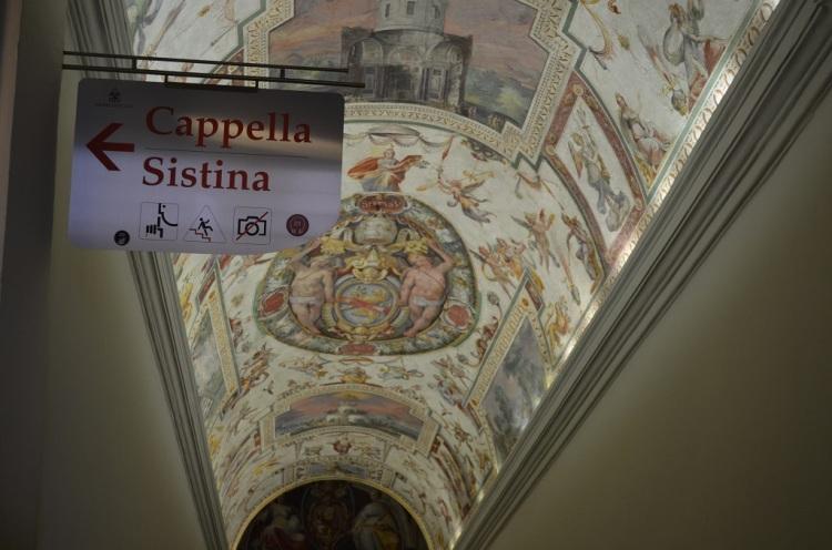 Entrata Cappella Sistina