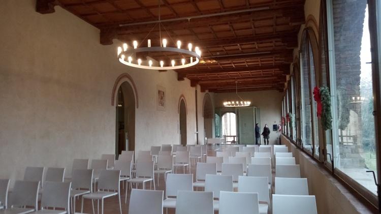 Sala riunioni Castello Formigine