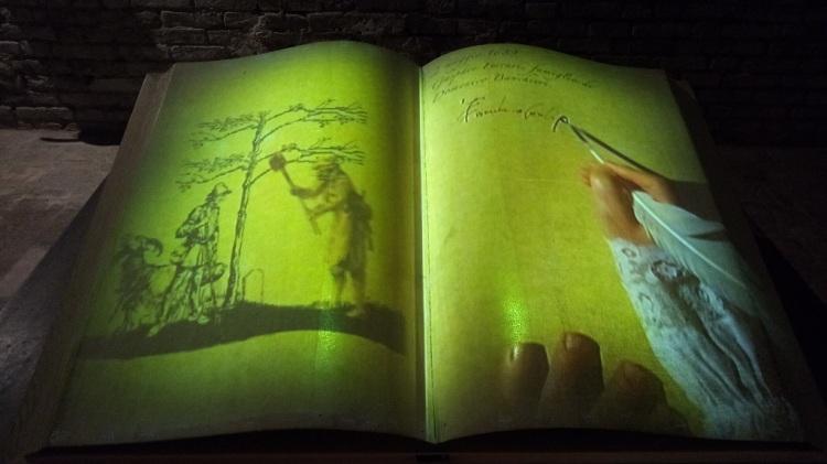 Installazione multimediale - Castello Formigine