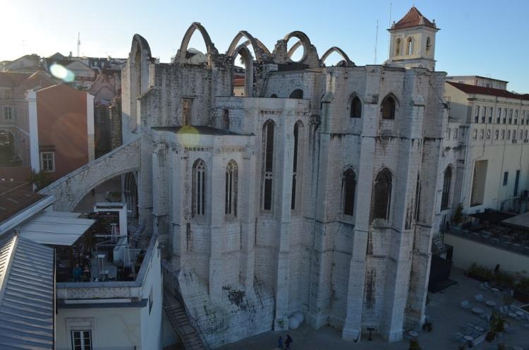Chiesa del Convento do Carmo Lisbona