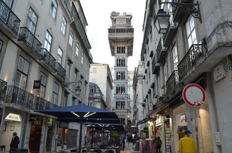 Elevator Santa Justa Lisbona