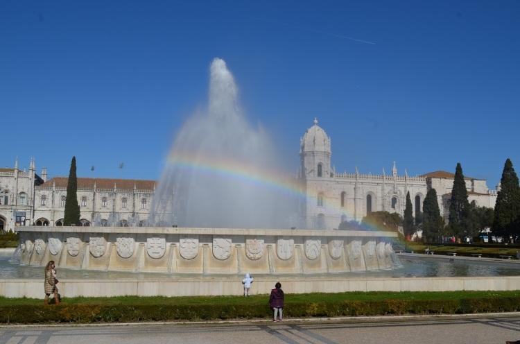 Jardim da Praca do Imperio Lisbona