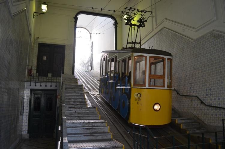 Elevador Da Bica Lisbona