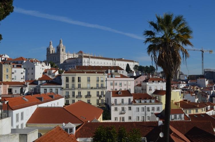 Panorama da Miradouro de Santa Luzia