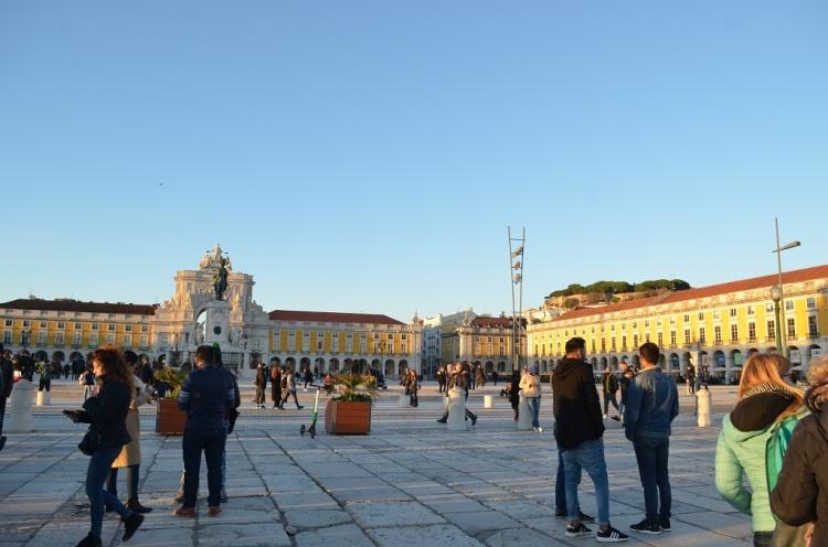 Praça do Comércio - Lisbona